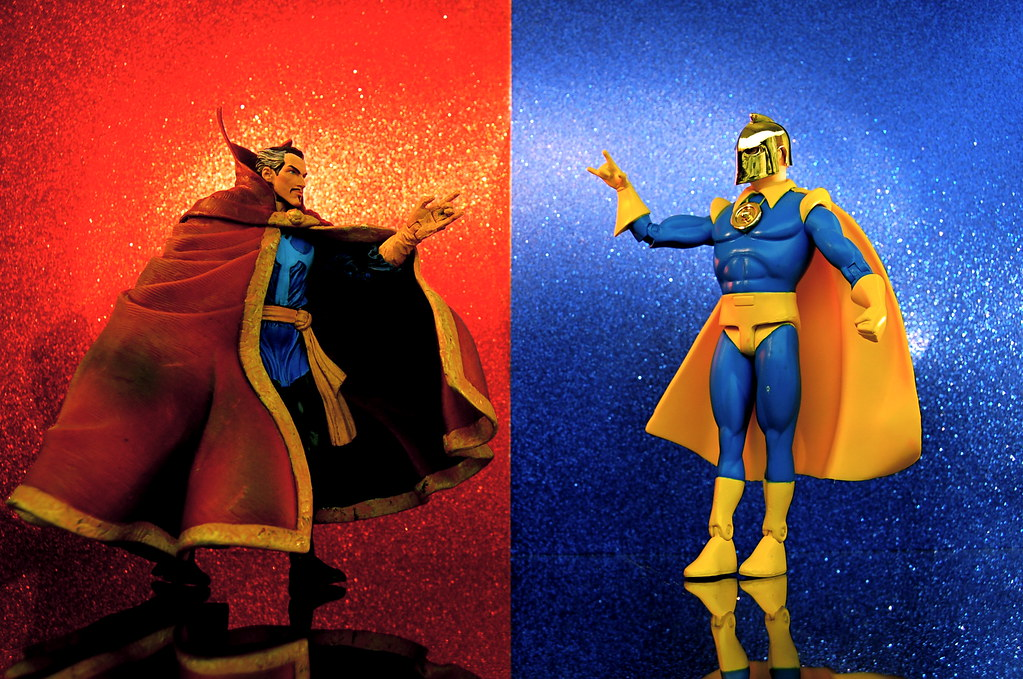 Doctor Strange vs. Doctor Fate (327/365)