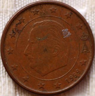 1999 Euro 1 cent Belgium