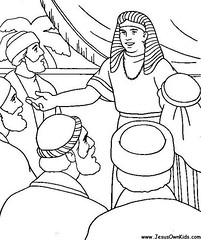 1z. Genesis -Joseph Reveals Himself to his brothers www.JesusOwnKids.com