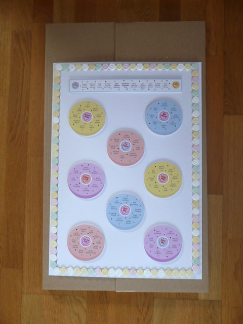 Another example of our exsquisite sweety wedding table plan designs