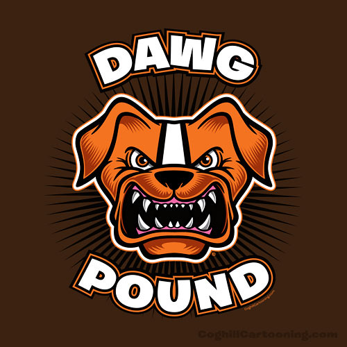 quotdawg poundquot cleveland browns flickr photo sharing