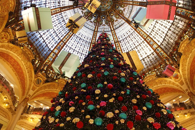 Galeries Lafayette Holiday Display, Paris