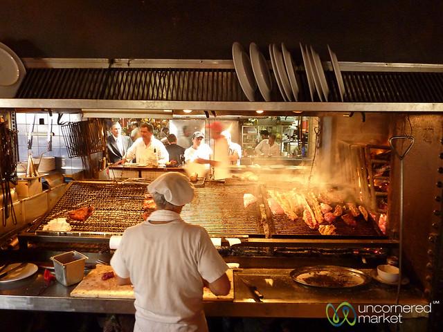 Steak Restaurants at Mercado del Puerto - Montevideo, Uruguay