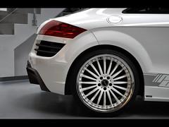 executive car(0.0), audi q7(0.0), grille(0.0), automobile(1.0), automotive exterior(1.0), wheel(1.0), vehicle(1.0), automotive design(1.0), rim(1.0), alloy wheel(1.0), audi tt(1.0), bumper(1.0), concept car(1.0), land vehicle(1.0), luxury vehicle(1.0),