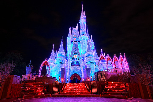 Cinderella Castle Fire & Ice