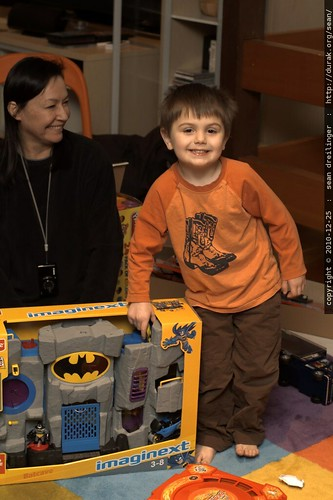 sequoia is really pleased to have a toy batcave