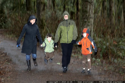 grandparents & grandsons on the trail