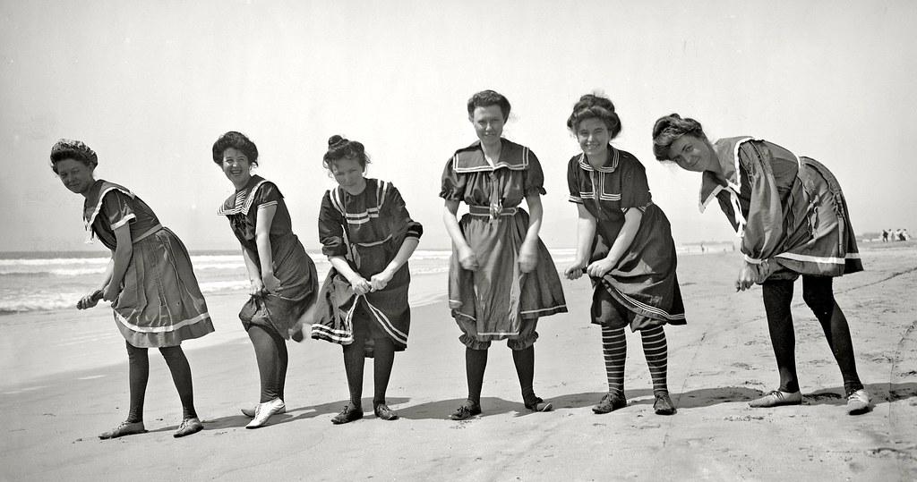 фото - купальники начала 20-го века
