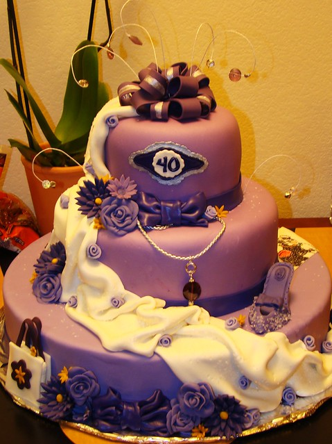 Birthday Cake Images For Big Sister : Big sister 40th birthday cake Flickr - Photo Sharing!