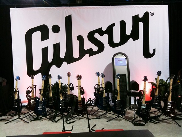 Photo:Gibson Firebird X Guitar at CES By 246-You