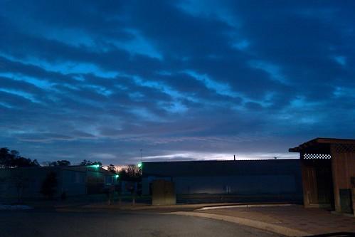sunset sky sunrise