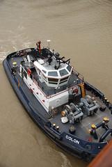 The tugboat Colon -- Panama Canal Trip 10-10-10