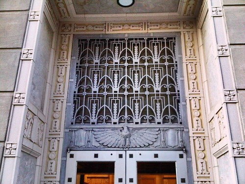 Doorway, Trenton federal courthouse