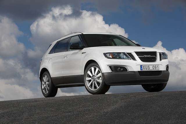 Saab 9-4X Crossover © Saab Automobile AB