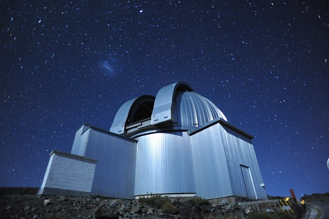 The Large Magellanic Cloud above the MPG/ESO 2.2m telescope