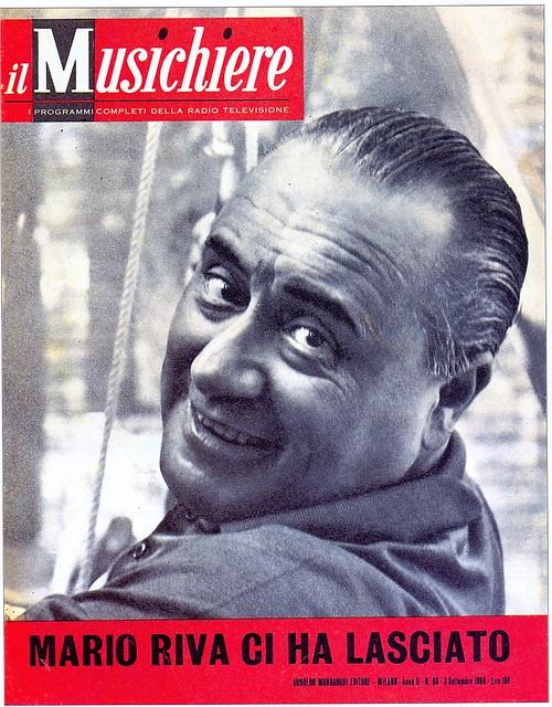 magazine - il musichiere - 1960 - mario riva