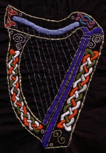 Celtic Knot Harp