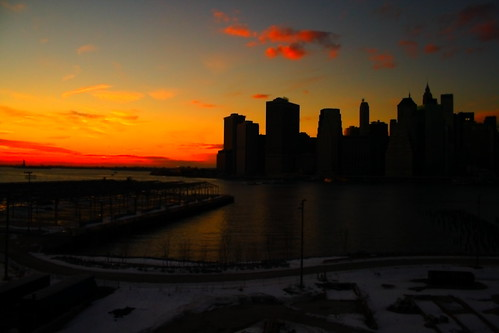Brooklyn Heights Promenade Sunset 2