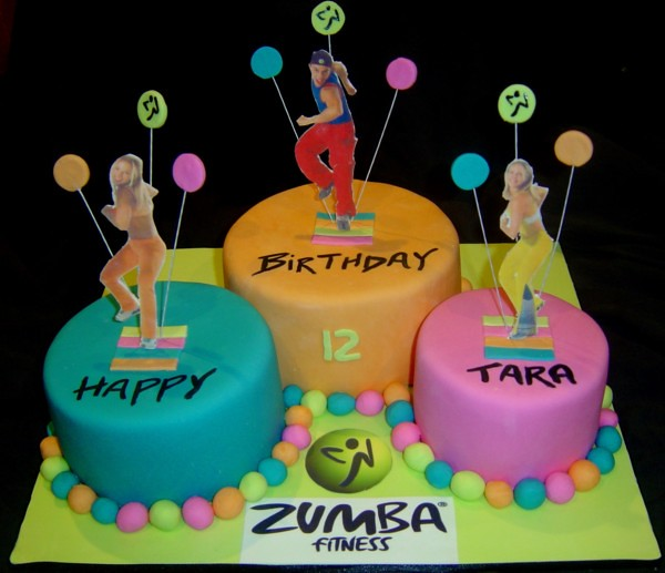 Zumba Cake Photos http://www.flickr.com/photos/noveltycakes/5356379643/