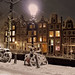 Magical winter wonderland in Amsterdam