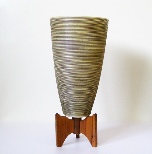 Mid Century Modern Fiberglass Lamp Base by The White Mole