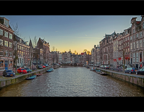 Amsterdam canal herengracht sunset stewiedewie 39 s world for Herengracht amsterdam