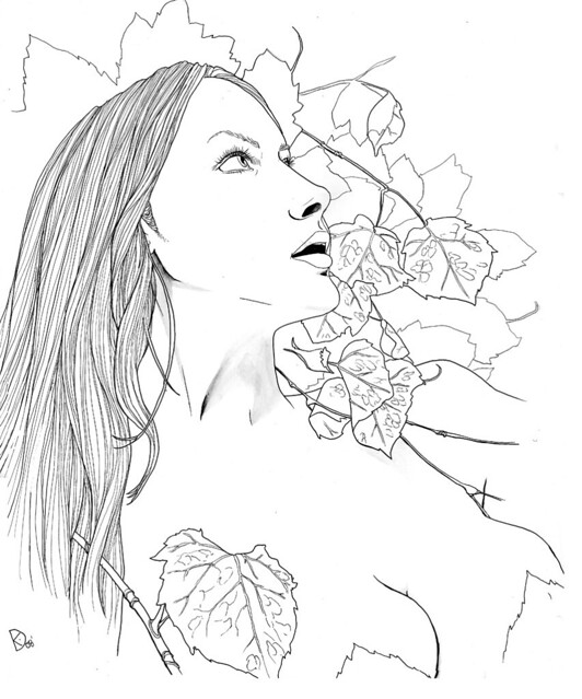 Free Coloring Pages Of Poison Ivy Plant Poison Coloring Page