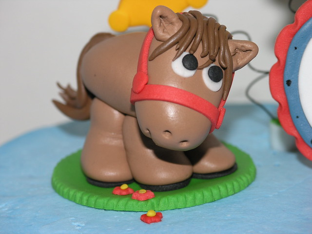 How To Make A Horse Cake Topper