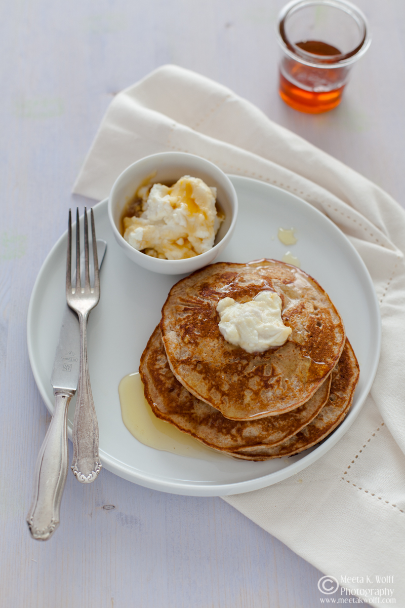 Ricotta Honey Pancakes  0013