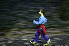nick, running in the dark