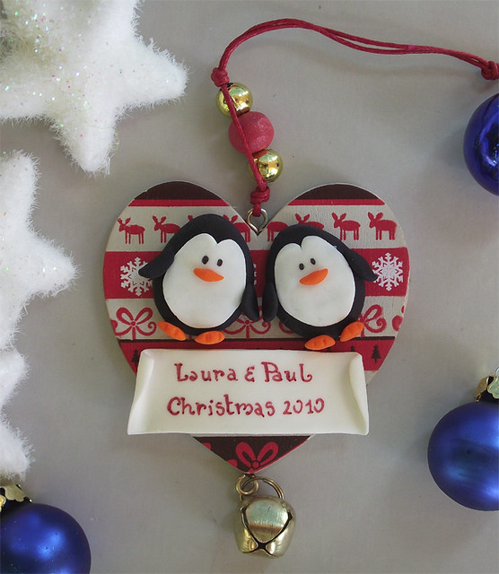 Personalized Ornaments for a Family of 2 and Couples