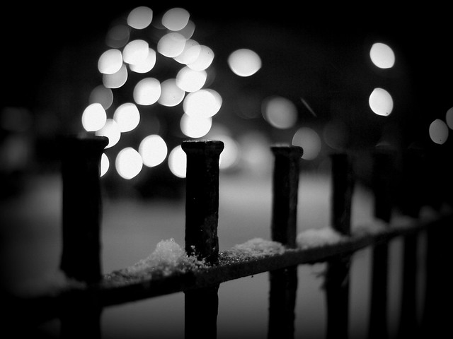 Let it Snow Fence por Kirstin Mckee