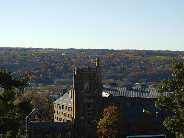 Cornell University by CC user shimgray on Flickr