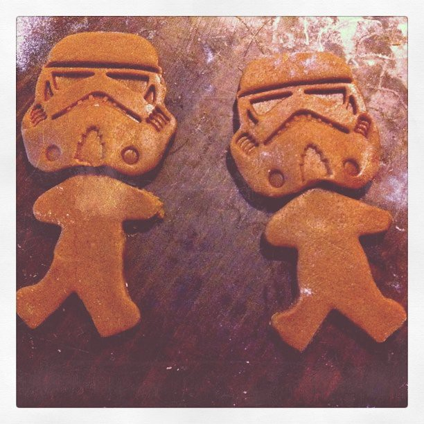 Gingerbread Stormtroopers