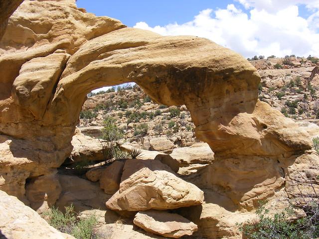 New Mexico Natural Arch NM-203 Gobernador Canyon Arch