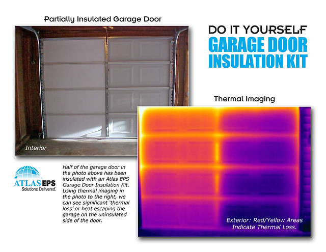 atlas eps garage door insulation kits thermal imaging flickr