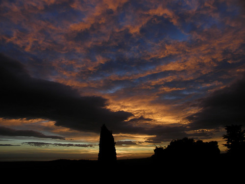clouds sunrise nuvole alba trocci
