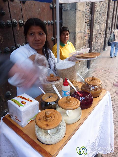 Street Wafer Snacks - Bogota, Columbia