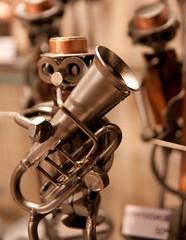 Saxhorn Player (Metal Art)