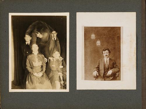 Album, Spirit Photographs by Preus museum
