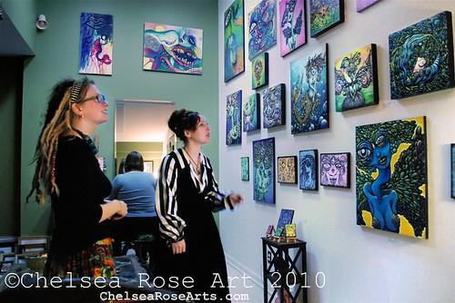 Goddess gallery opening 2010