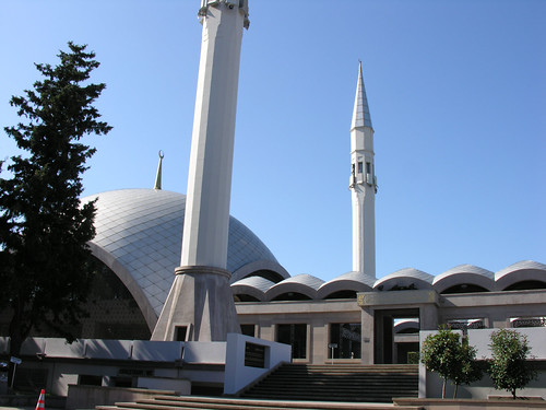Egy jól megtervezett modern dzsámi: Şakirin Cami