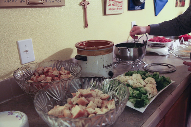 Christmas Eve Fondue Party