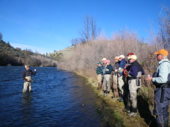 Chris King presents afternoon program at weekend Spey program