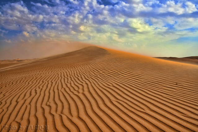 nature landscape , Blowing sand HDR- Explore Front Page