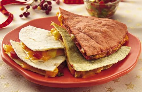 Christmas Quesadillas Recipe