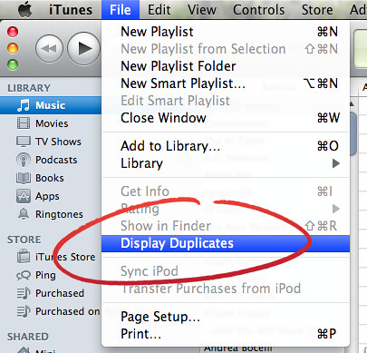 how to delete photo from itune library