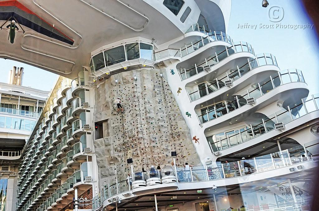 Cruise Ship Rock Climbing Wall - A Photo On Flickriver