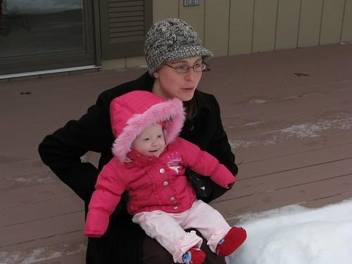 winter baby snow mi canon outdoors michigan oden s5is