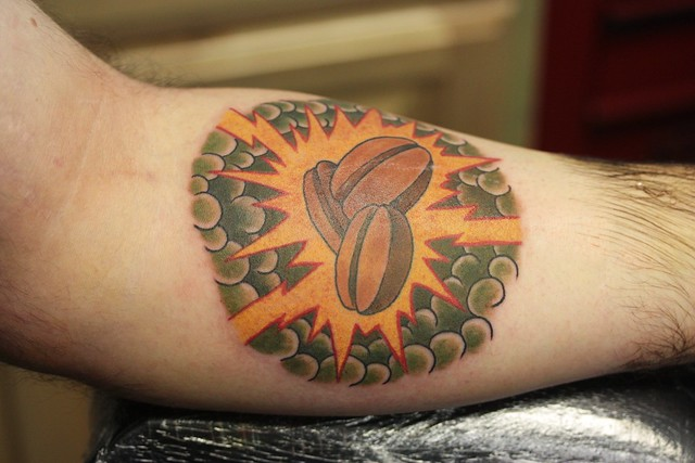 coffee bean tattoo flickr photo sharing